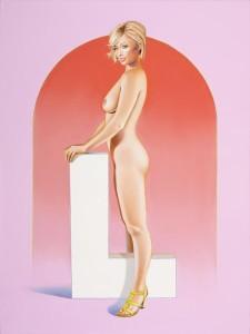 Hollywood Suite 3 L, 2009, tuval üzerine yağlıboya, 102 x 76 cm.
