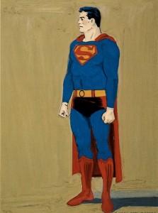 Süpermen, tuval üzerine yağlıboya, 1961, 101.6 x 76.2 cm.