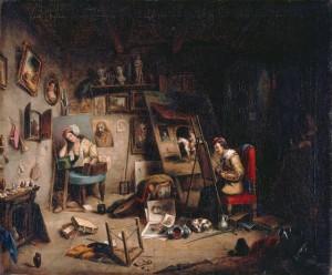 cornelius-krieghoff-the-studio