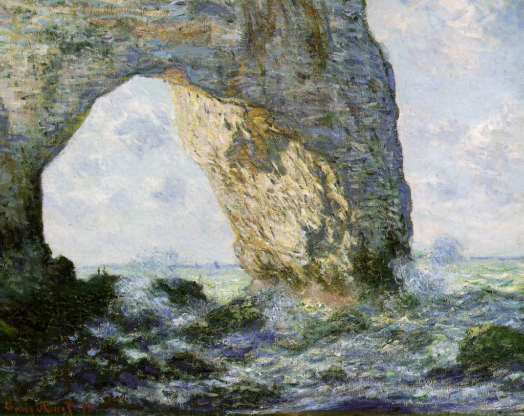 Claude-Monet-Rock-Arch-West-of-Etretat