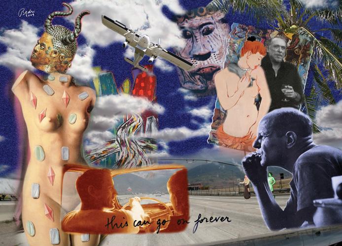 Haremin Dünü Bugünü 2, 180 x 120 cm., 4D. 2008