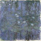 Monet-Mavi Nilüferler