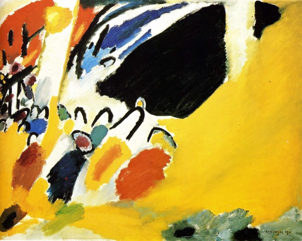 Kandinsky Improvisation III Schoenberg Concert 1911