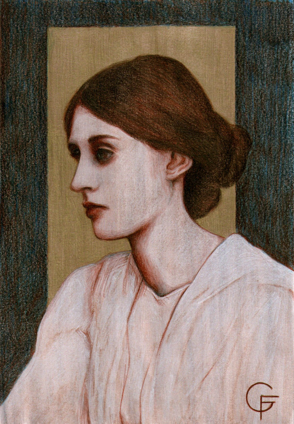 virginia_woolf_by_Fabiano Gagliano