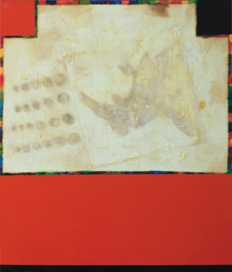 Boş Kare Blank Square, 200 x 170cm., T.ü.kar.tek., 2011