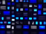 Channels _Susan Hiller_   Multi-Kanal Video Enstalasyon_106 televizyon_9 medya oynatıcısı_7 DVD player_2011_Detay