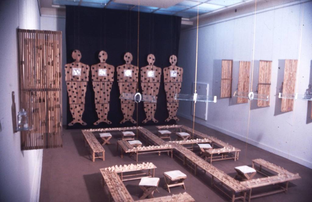 4. Ismail Saray, 'ER-DAMU-UTU-SU', Paris Biennial, 1977