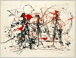 Jackson Pollok, fiziksel, 1948