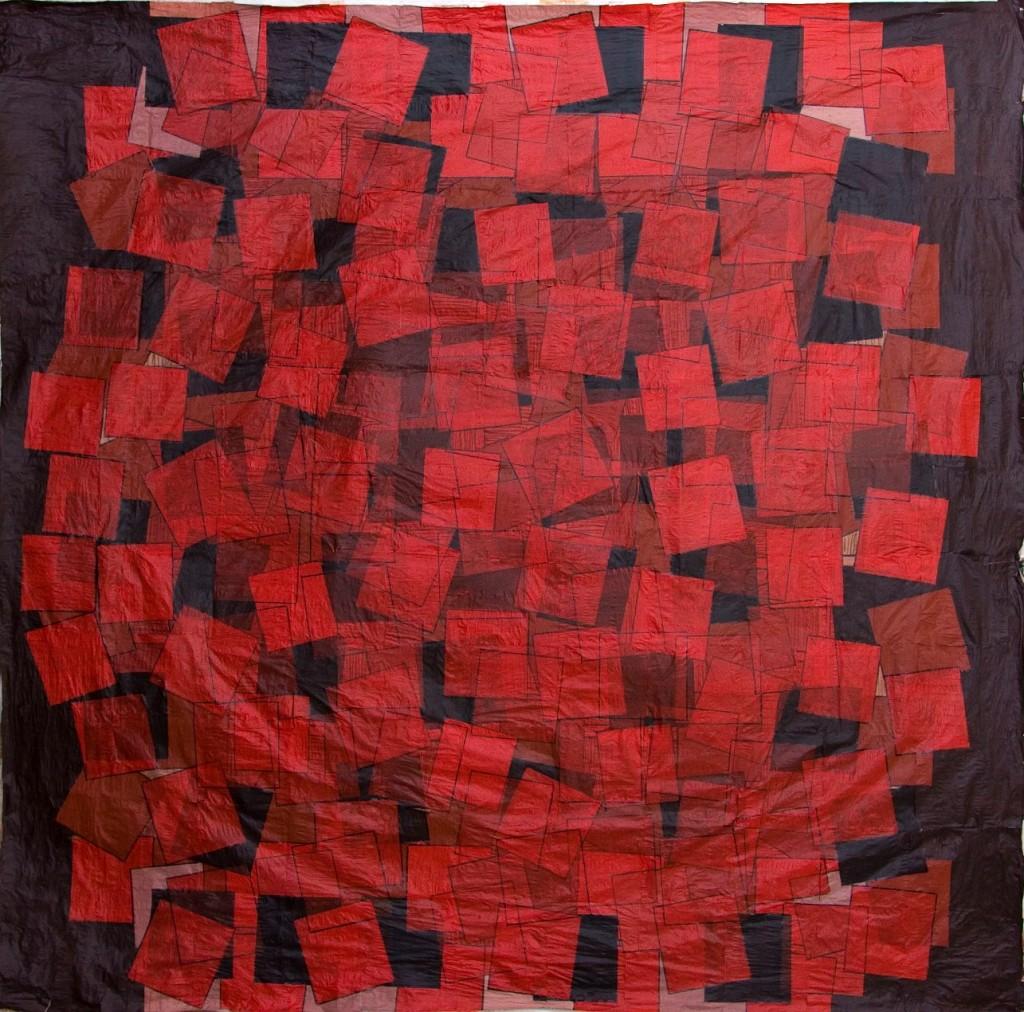 KOT NO: 0515, 185 x 181 cm., Kağıt ü.kar.tek., 2006.
