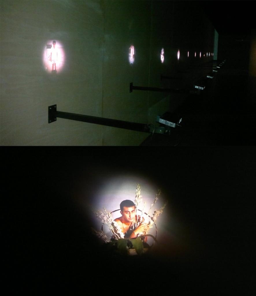 Bir ba-ka çerçeve, Akram Zaatari, Video Enstalasyon, 1998-2013