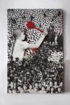 Damla Özdemir, Pin the Little Soldier - Hedef Küçük Asker, 160 x 100 x 4 cm, 3 boyutlu kolaj – Ahşap ve Fine art baskı, 3 Dimensional collage-Wood and Fine art print, 2014