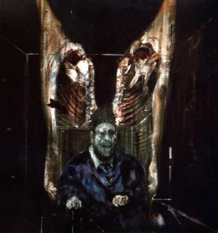 Figure with Meat, Francis Bacon.