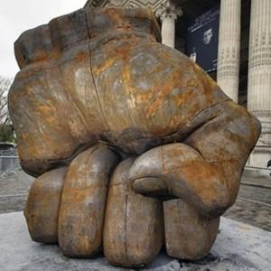 Liu Bolin - sculpture/metal