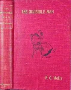 H.G.Wells  Görünmeyen Adam 1897 - ilk baskı-