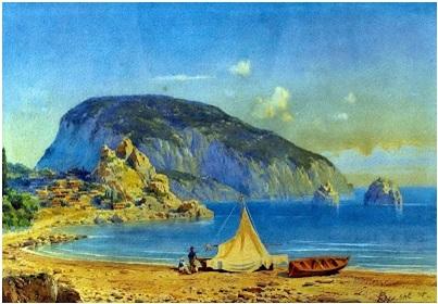 Edward john Poynter- Ayı Dağı