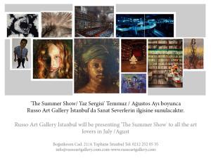 Yaz sergisi-Summer show