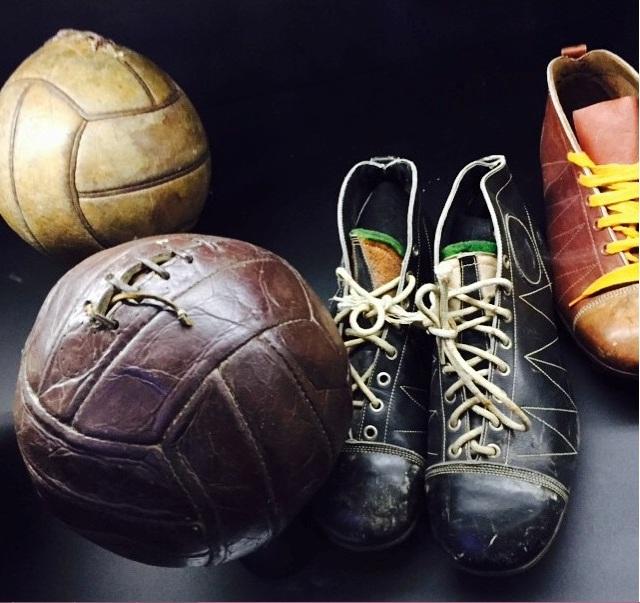 Real Madrid Müzesinden 1930'lara ait ayakkabılar