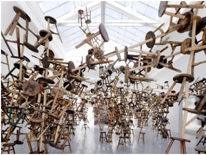 Venedik Bienali 2013- 886 Ahşap Tabure