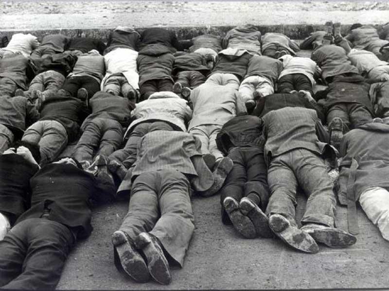 12 Eylül tutuklu insanlar
