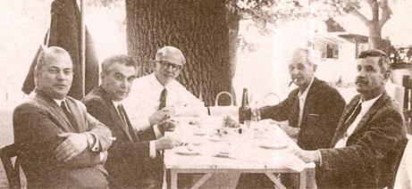 Şevket Arman, İlhami Demirci, Şinasi Barutçu, Rüstem Duyuran, Selahattin Taran, Kadıköy, 1972