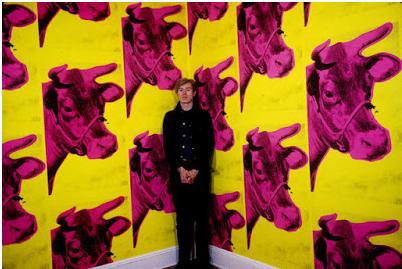 Andy Warhol, Duvar kağıdı Cows