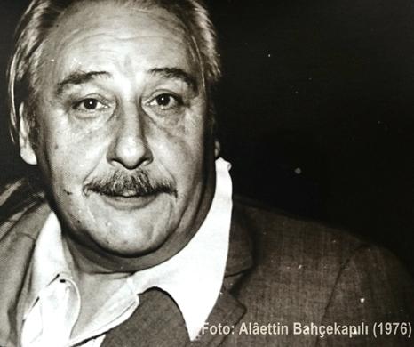 Oktay Akbal by Alaettin Bahçekapılı, 1976