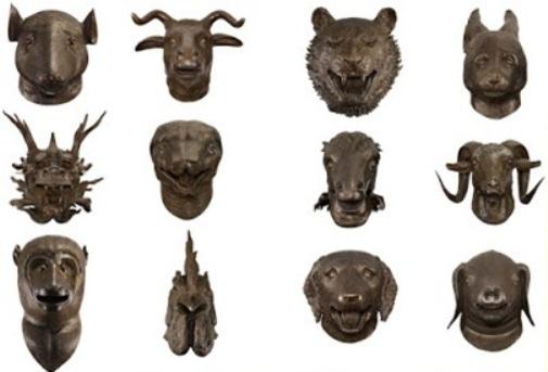 Ai WeiWei / Zodiac -Geleneksel Çin sanatından hareketle