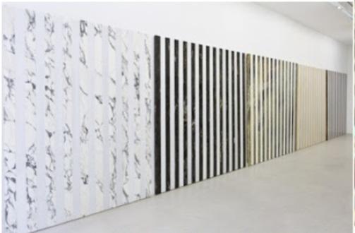 Daniel Buren / Au furet mesure