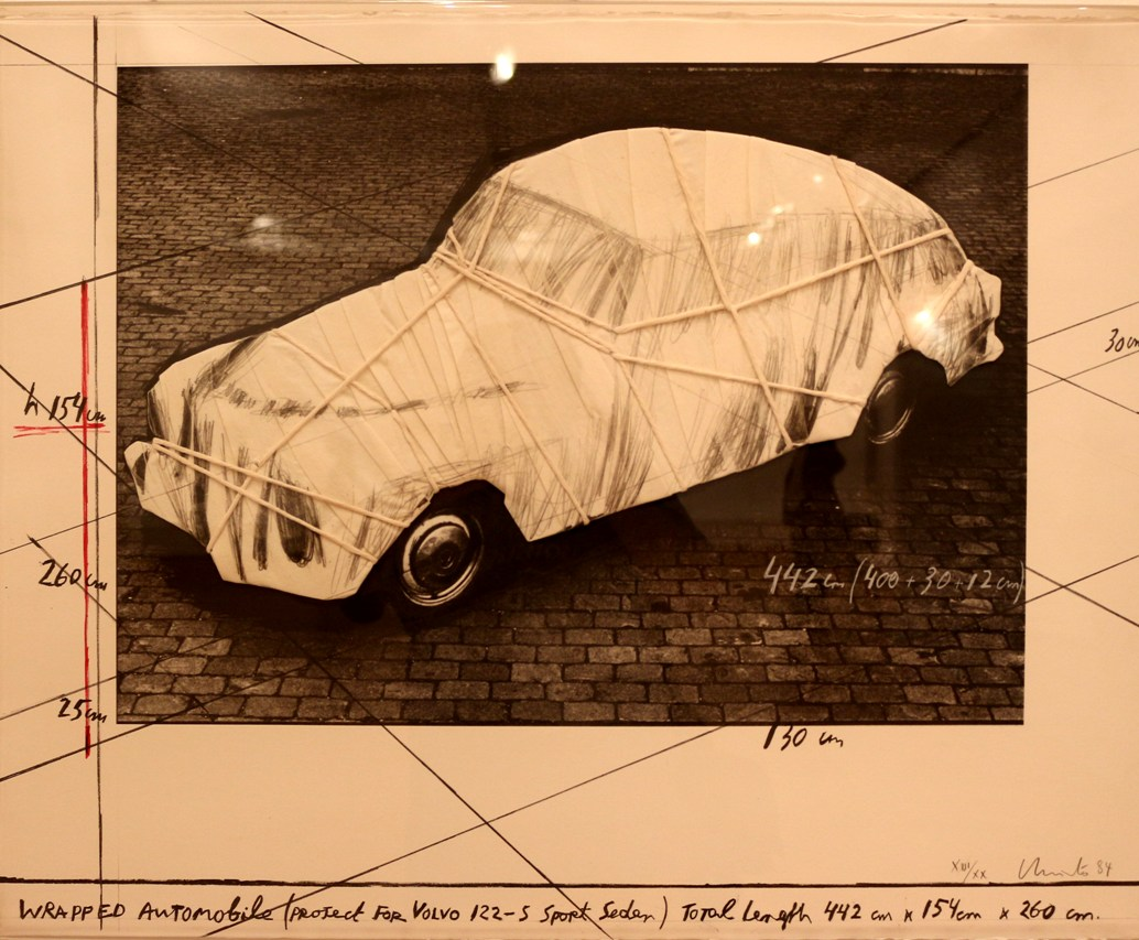 Christo, Wrapped, Automobile, Project For Volvo 122 S Sport Sedan, 1984