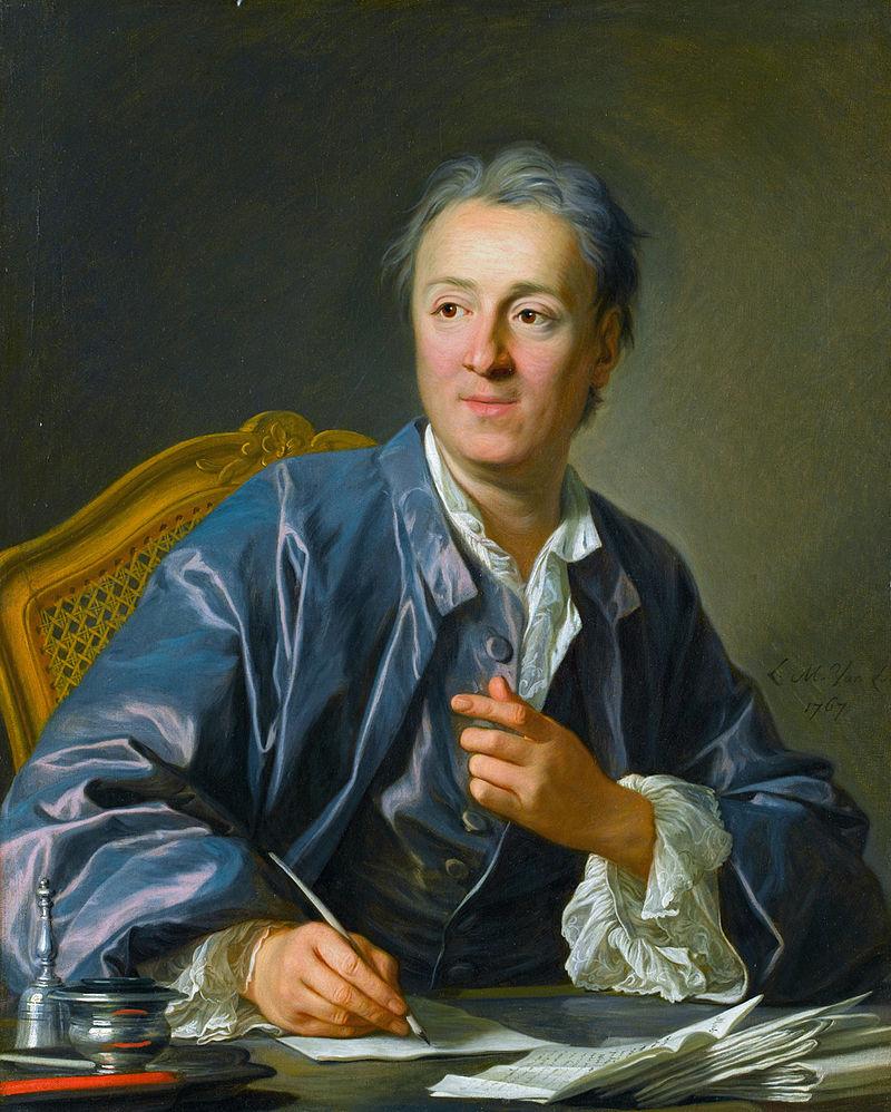 Denis Diderot, Louis-Michel van Loo