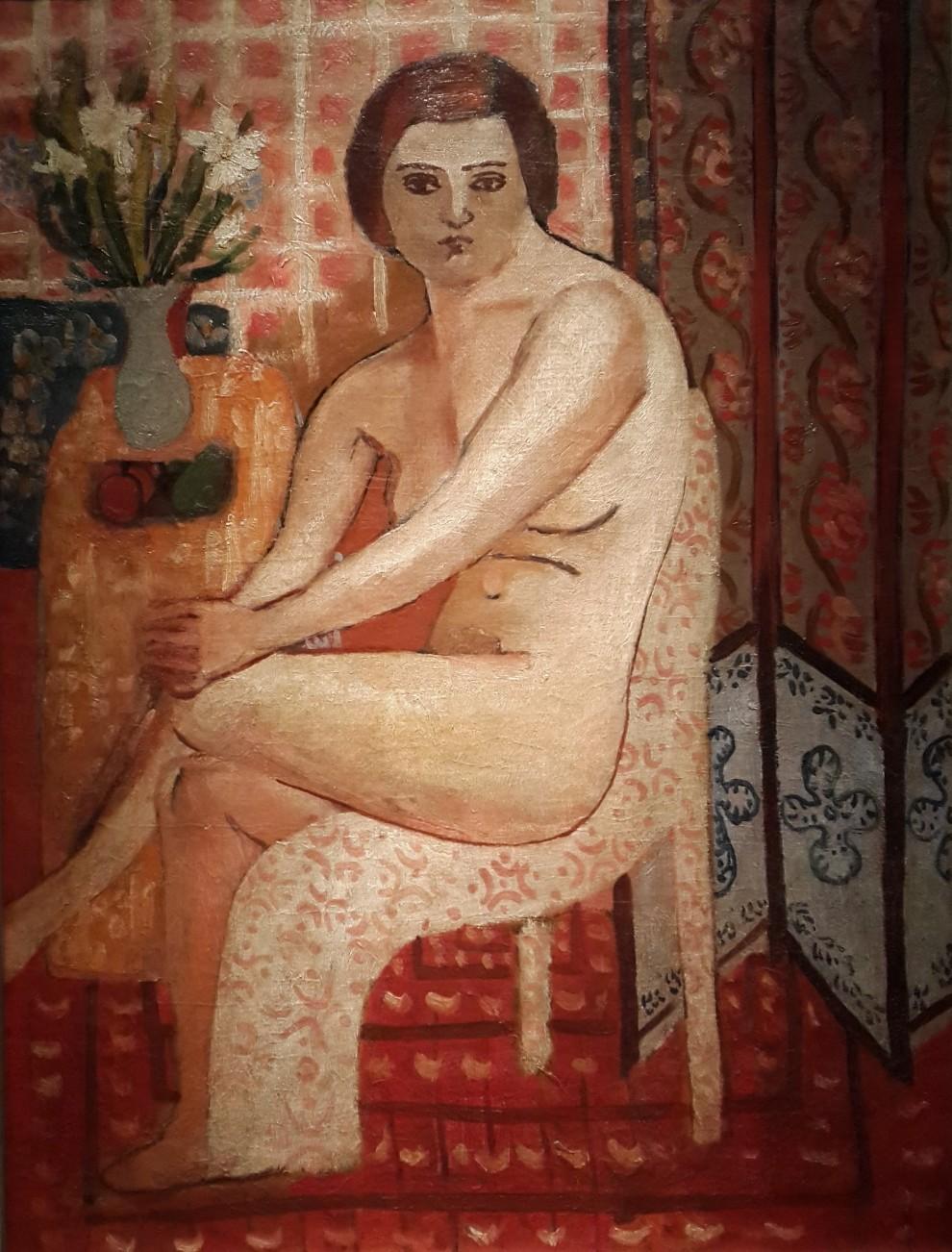 Bedri Rahmi Eyüboğlu, Çıplak, 1930