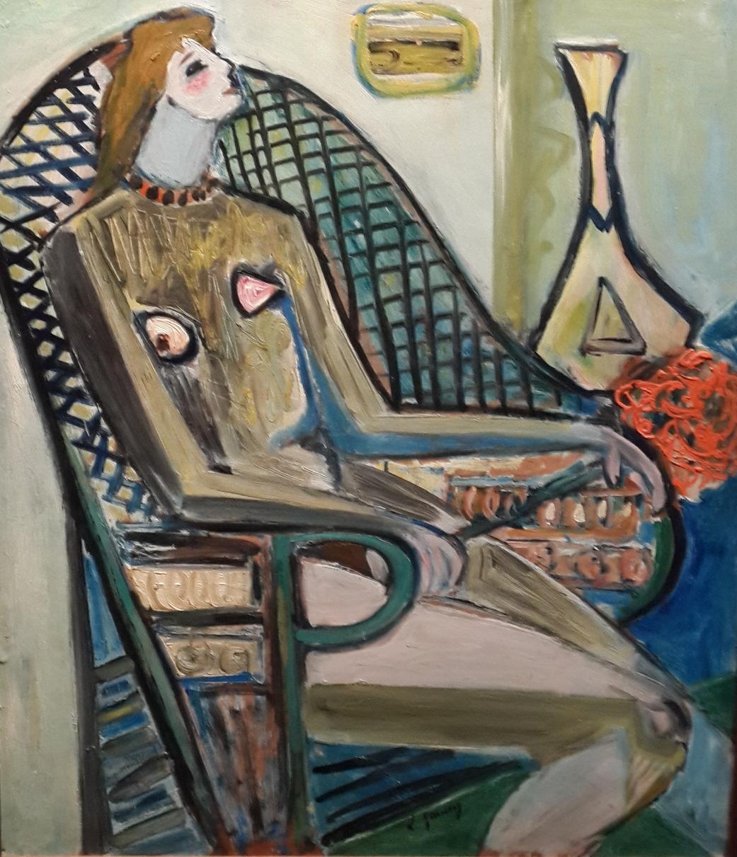 Leyla Gamsız, Oturan Kadın