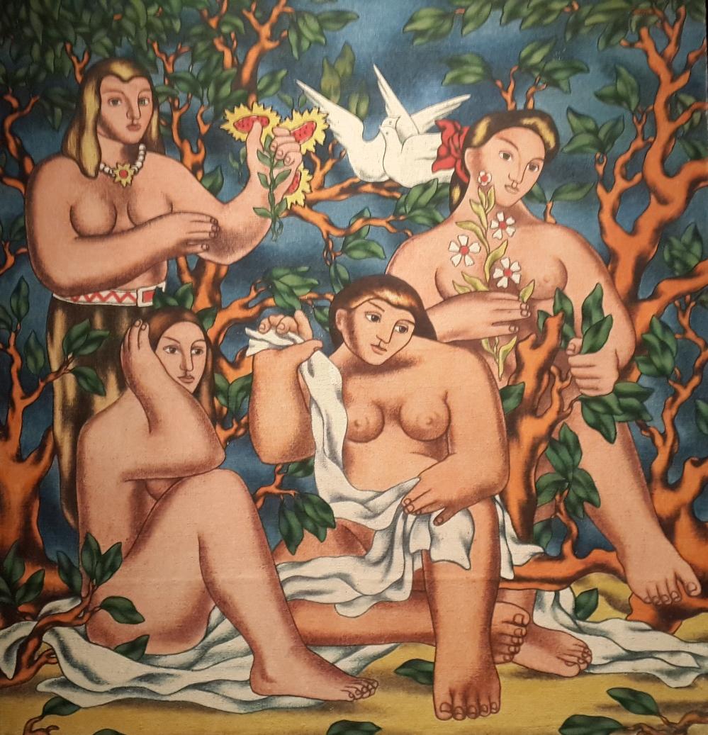 Neşet Günal, Dörtlü Güzellik, 1951