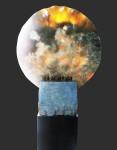Caner -engünalp, Hiç batmayacak olandan nas-l kaç-p saklan-labilir , 30 x 71 x 135 cm , Oniks - Bazalt - Bronz, Onyx-basalt-bronze, 2016