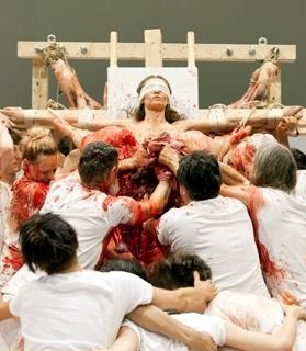 "Hermann Nitsch ""Theatre of Orgies and Mysteries"" 1962-1998"