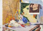 Gizem Enuysal - İsimsiz, KUYB, 50x70 cm, 2016