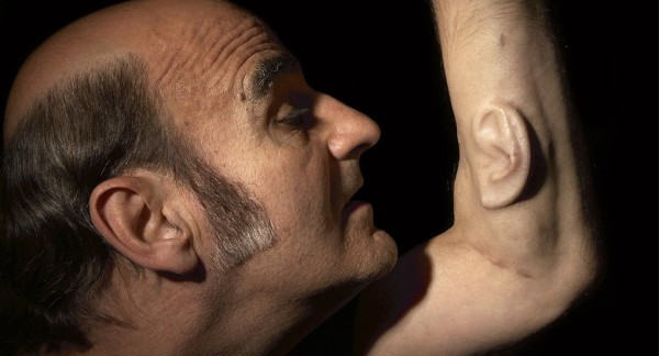 Stelarc, Extra Ear: Ear on Arm, 2006, London, Los Angeles, Melbourne © 2006 Photo by Nina Sellars