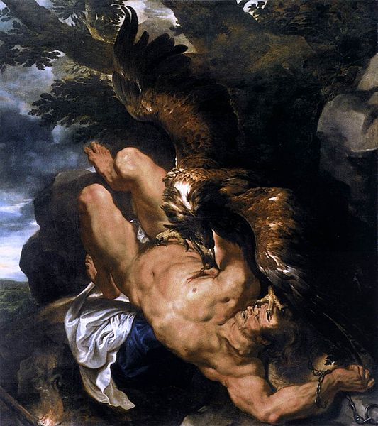 Pprometheus Bound, Peter Paul Rubens, 1610-1611