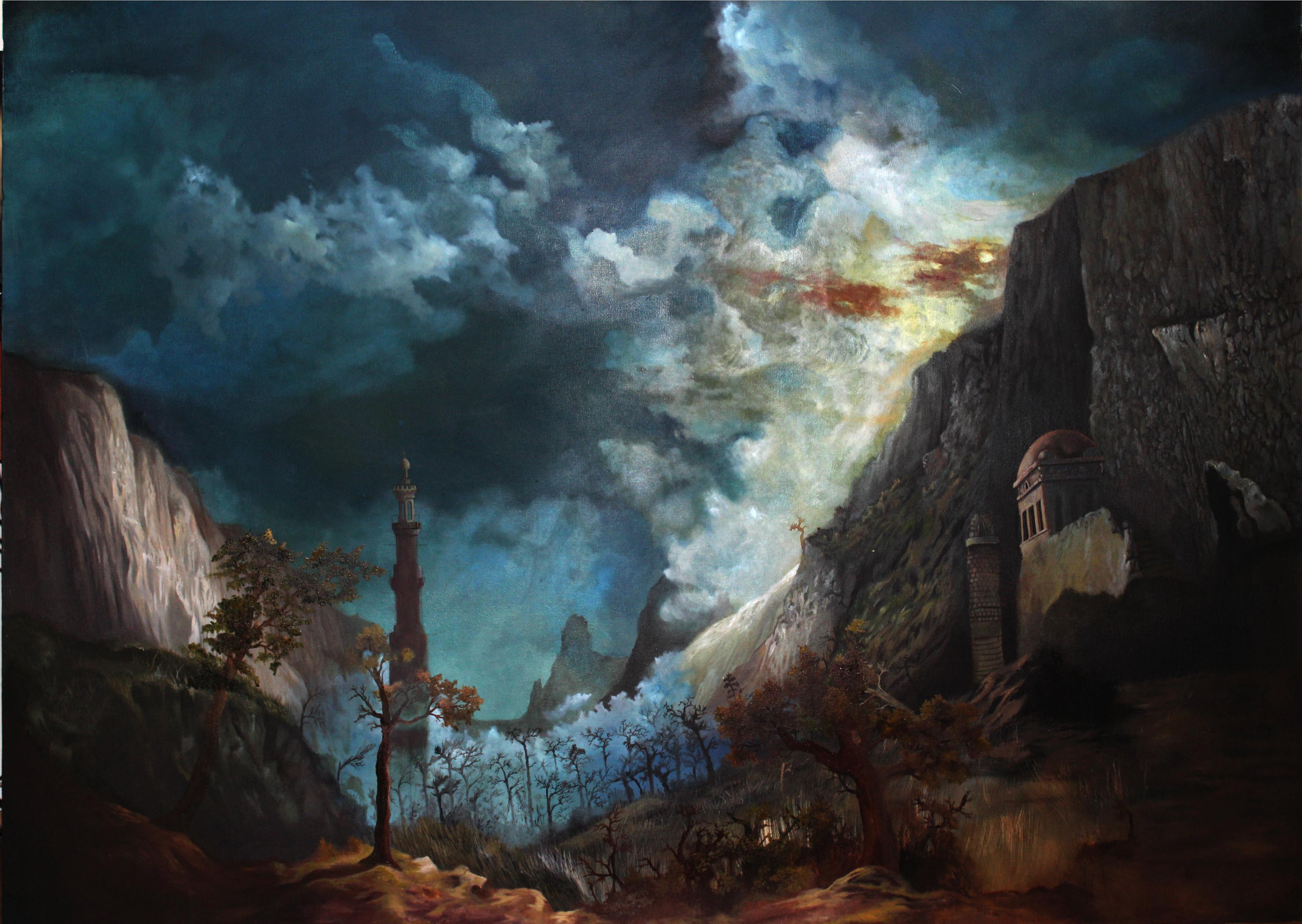 Vecdi Uzun: Ben Bilincli Asosyal Bir Ressamim