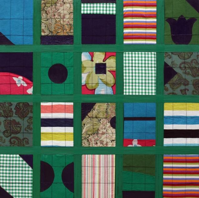 KIRK-BEDEN-2017-50x50cm.-Tuval-üzerine-kumaş-ve-akrilik