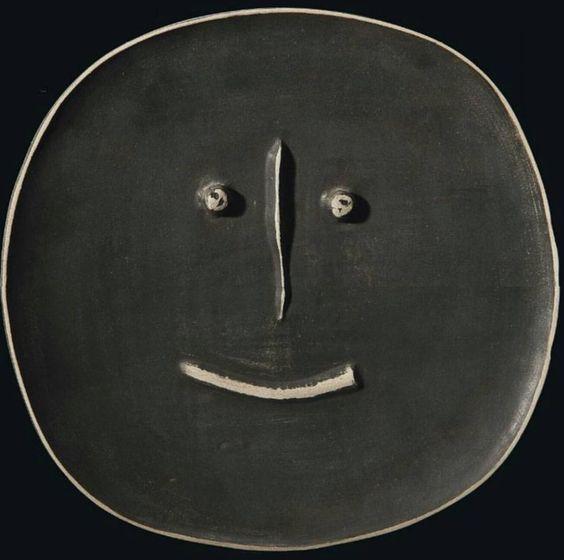 Picasso, Self-Portre, Seramik, 1959