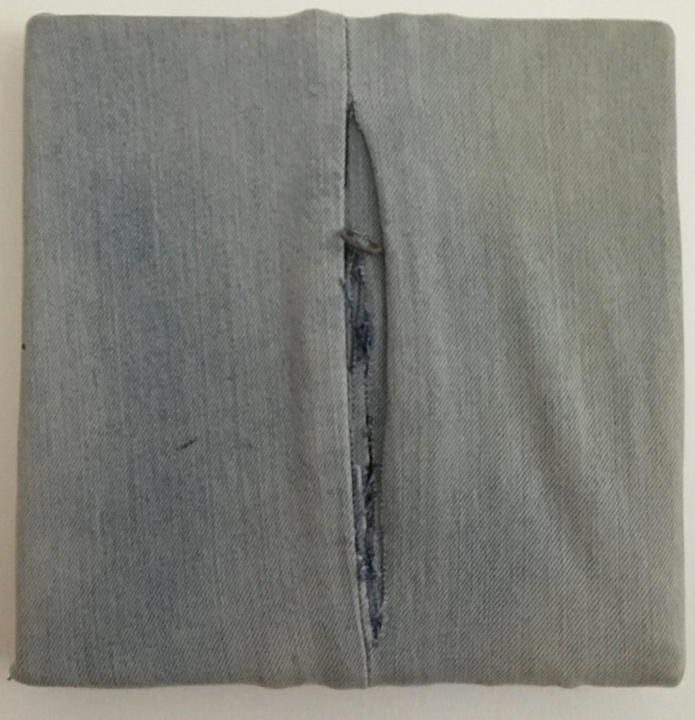 Özkan Işık, Mahrem Dedikodu, 2013, 20x20 cm. karışık teknik
