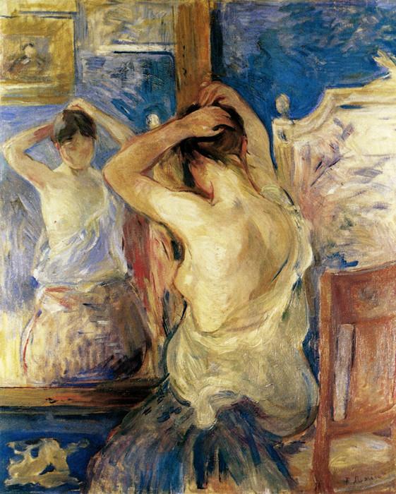 Berthe Morisot, Before the Mirror